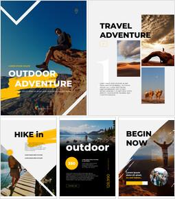 Outdoor Adventure Business plan Templates PPT_23 slides