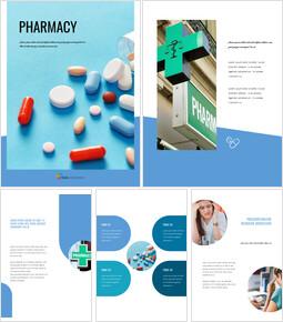 Pharmacy Google Slides Template Design_25 slides
