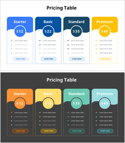 Pricing Table_2 slides