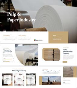 Industria della cellulosa e della carta Keynote Mac_35 slides