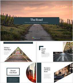 Route Modèles commerciaux PowerPoint_35 slides