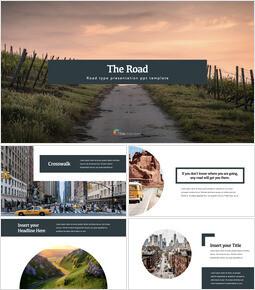 Road PPT Keynote_35 slides
