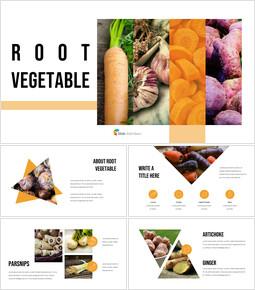 뿌리채소 파워포인트 프레젠테이션_35 slides