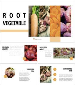 Root Vegetable PPT Keynote_35 slides