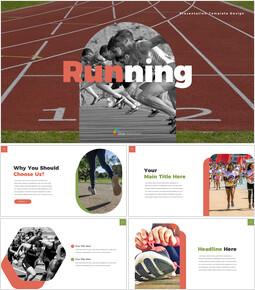 달리기 제안 파워포인트 예제_35 slides