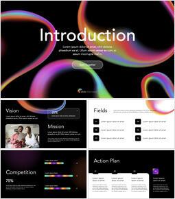 Service Introduction Pitch Deck Multipurpose Presentation Keynote Template_14 slides