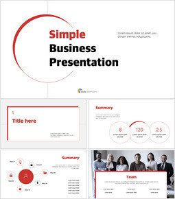 Concept de ligne d\'activité simple Keynote interactif_37 slides