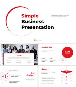 Simple Business Line Concept Proposal Presentation Templates_37 slides