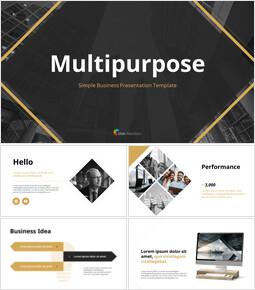 Simple Business Multipurpose Effective PowerPoint Presentations_38 slides