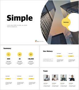 Simple Modern Creative Keynote Design_37 slides