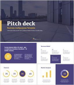 Simply Pitch Deck keynote presentation templates free_13 slides