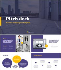 Simplement Pitch Deck modèle ppt_13 slides