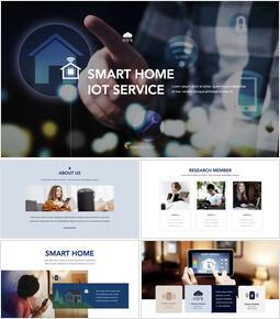 Smart Home Iot Service Keynote for PC_50 slides