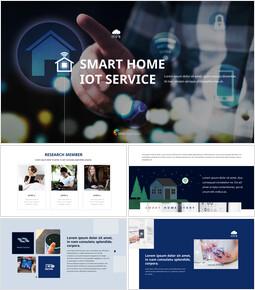 スマートホームIoTサービス ピピチテンプレートのデザイン_50 slides