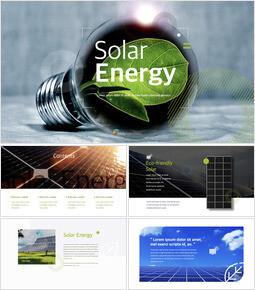 太陽光エネルギー 美しいキーノートのテンプレート_50 slides