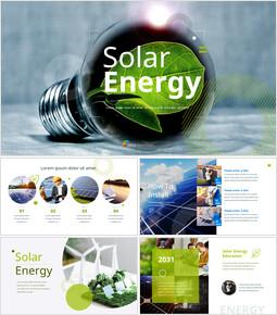 太陽光エネルギー ベストパワーポイントのプレゼンテーション_50 slides