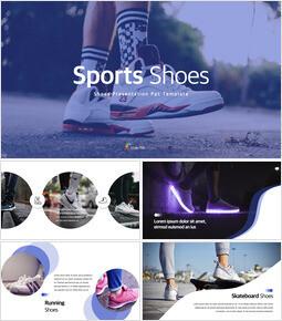 Sports Shoes Theme Keynote Design_35 slides