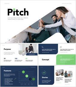 Start Business Pitch Keynote Presentation_13 slides