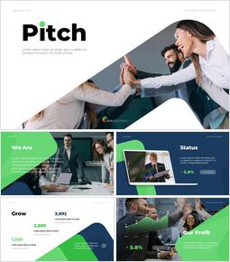 Start Business Pitch Powerpoint Presentation_13 slides
