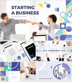 起業 テンプレートPPT_50 slides
