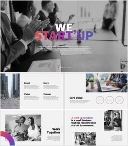 Startup Keynote Presentation_50 slides