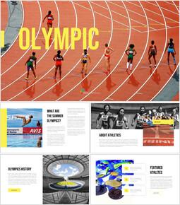 Summer Olympic Games PPT Model_35 slides