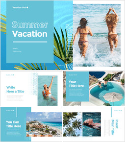 summer Vacation PowerPoint Templates for Presentation_35 slides
