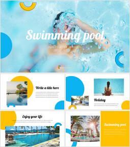 Swimming Pool Google PowerPoint Slides_35 slides