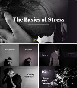The Basics of Stress PowerPoint Design ideas_35 slides
