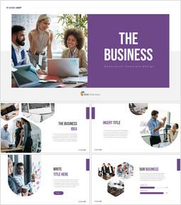 ビジネス 編集が簡単にパワーポイントデザイン_35 slides