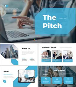 ピッチスタートプロジェクト プレミアムPowerPointのテンプレート_13 slides