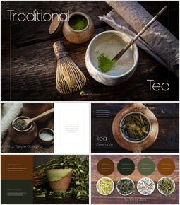 Thé Traditionnel Présentation d\'entreprise PPT_35 slides