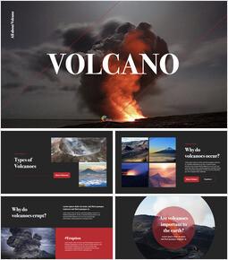 Volcano keynote theme_35 slides