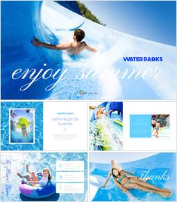 Water Parks Best PowerPoint Presentation Templates_40 slides