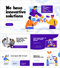 We Have Innovative Solutions Animation Templates_13 slides