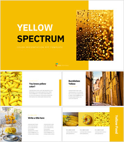 Yellow Spectrum Creative Google Slides_35 slides