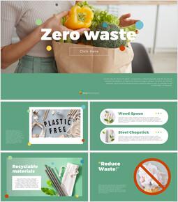 Zero waste PPT Templates Design_40 slides