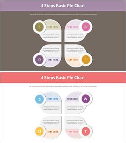 4 단계 기본 파이 차트 다이어그램_00