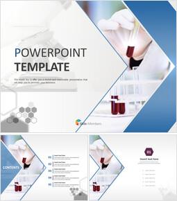 시약과 현미경 - 무료 PowerPoint 템플릿_00