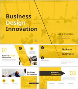 비즈니스 디자인 이노베이션 프레젠테이션용 PowerPoint 템플릿_00