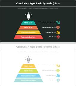 결론 유형 기본 피라미드 다이어그램 (아이디어)_00