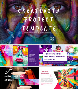 Creativity Project Google Slides Template Design_00