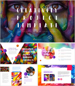 Creativity Project PowerPoint Templates Design_00