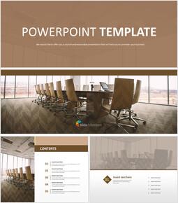 회의실 책상 - 무료 디자인 템플릿_00