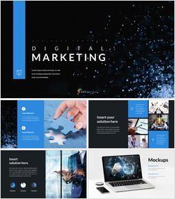 디지털 마케팅 프레젠테이션을 위한 구글슬라이드 템플릿_00