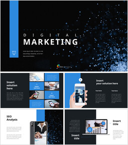 디지털 마케팅 PowerPoint 프레젠테이션 템플릿_00