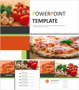 무료 디자인 템플릿 - 맛있는 피자_00