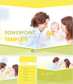 Free Design Template - Happy Family_00