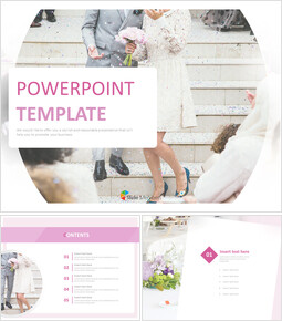 Free Powerpoint Templates Design - Happy Marriage_00