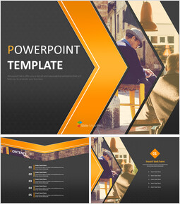 Free Powerpoint Templates Design - Old Age Time_6 slides